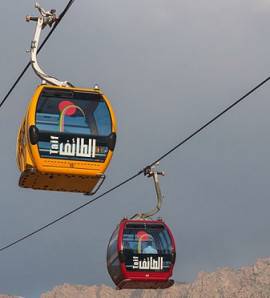 Taif: Full-Day Tour with Cable Car Ride
